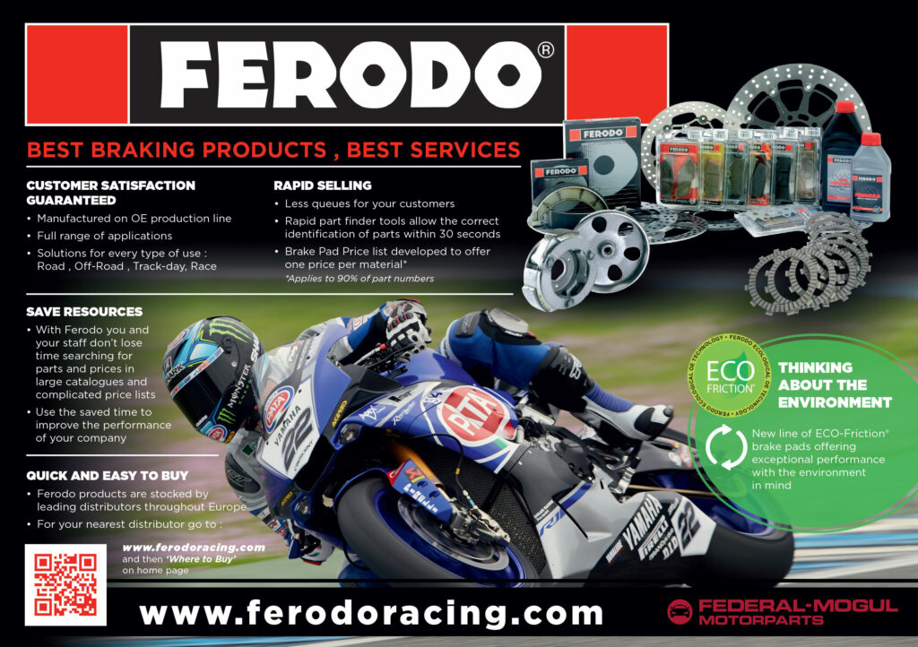 Ferodo motorcycle brake pads